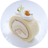 ユズのロールケーキ